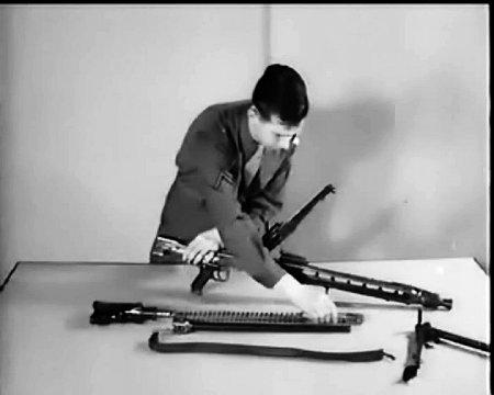 Zerlegtes MG 42